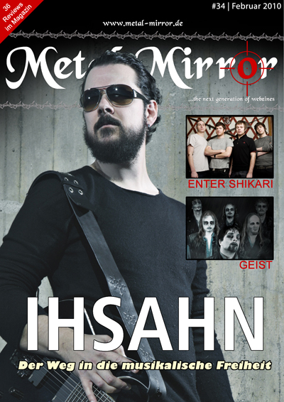 Metal Mirror #34 Cover