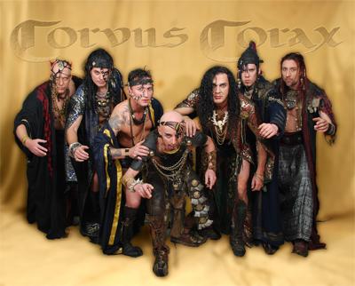 Corvus Corax auf Clubtour 2010