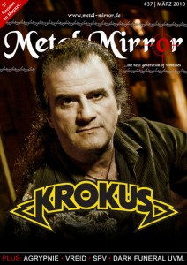 Metal Mirror #37 - Cover