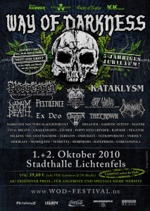 Flyer Way Of Darkness Festival