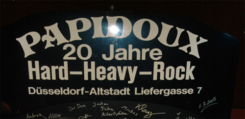 "Artikelserie ""Heavy Metal Locations"": Papidoux"