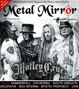 METAL MIRROR #60 - Mötley Crüe, HammerFall, Nocte Obducta, Solstafir uvm.