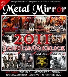 Der Jahresrückblick 2011 von METAL MIRROR