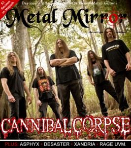 METAL MIRROR #63 - Cannibal Corpse, Asphyx, Xandria, Desaster, Black Messiah, Ketzer, Running Wild, Rage uvm.