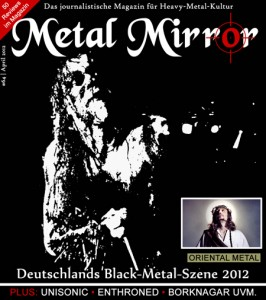 METAL MIRROR #64 - Black-Metal-Special, Lunar Aurora, Enthroned, Borknagar, Unisonic, Orphaned Land, Oriental Metal, Aura Noir