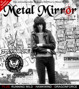 METAL MIRROR #65 - Joey Ramone, DragonForce, Running Wild, Hawkwind