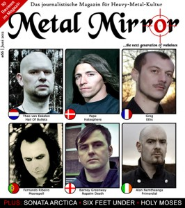 METAL MIRROR #66 - Fuball-EM-Special, Six Feet Under, Sonata Arctica, Saint Vitus, Holy Moses
