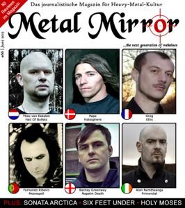METAL MIRROR #66 - Fußball-EM-Special, Six Feet Under, Sonata Arctica, Saint Vitus, Holy Moses