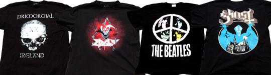 Special: Shirt happens! Metal- und Bandshirts