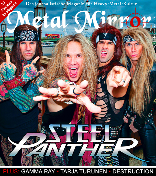 METAL MIRROR #72 - Steel Panther, Destruction, Tarja, Gamma Ray