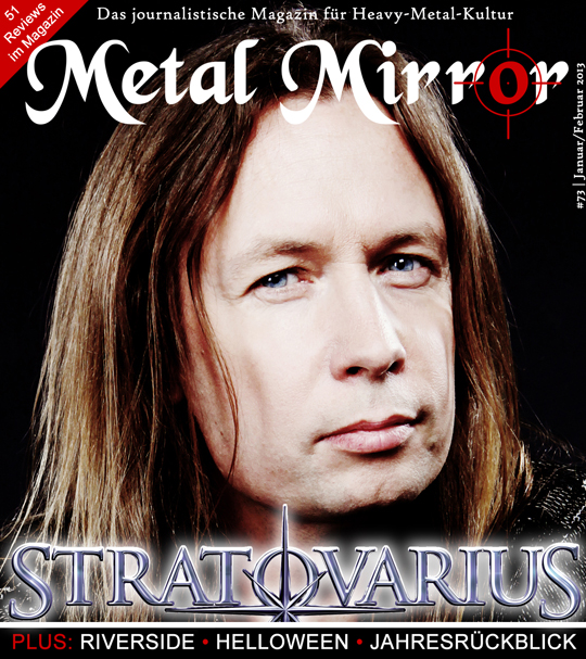 METAL MIRROR #73 - Stratovarius, Junius, Helloween, Riverside, Alpha Tiger, Jahresrückblick, Attic, Katatonia, Red Fang, Luca Turilli, Callejon, Vanderbuyst