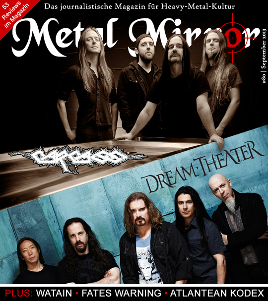 METAL MIRROR #80 - Dream Theater, Carcass, Atlantean Kodex, Nagelfar