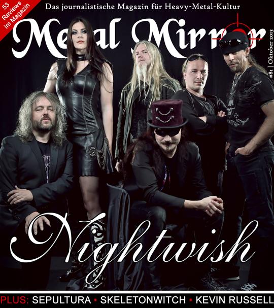 METAL MIRROR #81 - Nightwish, Kevin Russell, Sepultura, Skeletonwitch