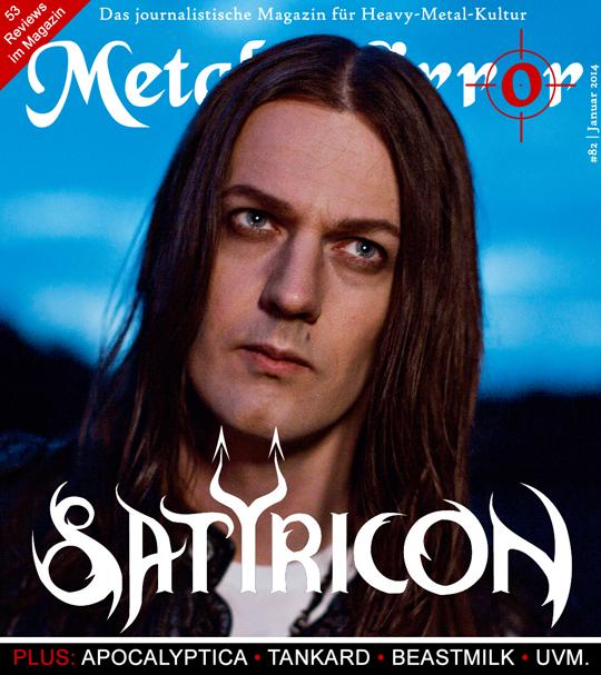 METAL MIRROR #82 - Satyricon, Tankard, Beastmilk